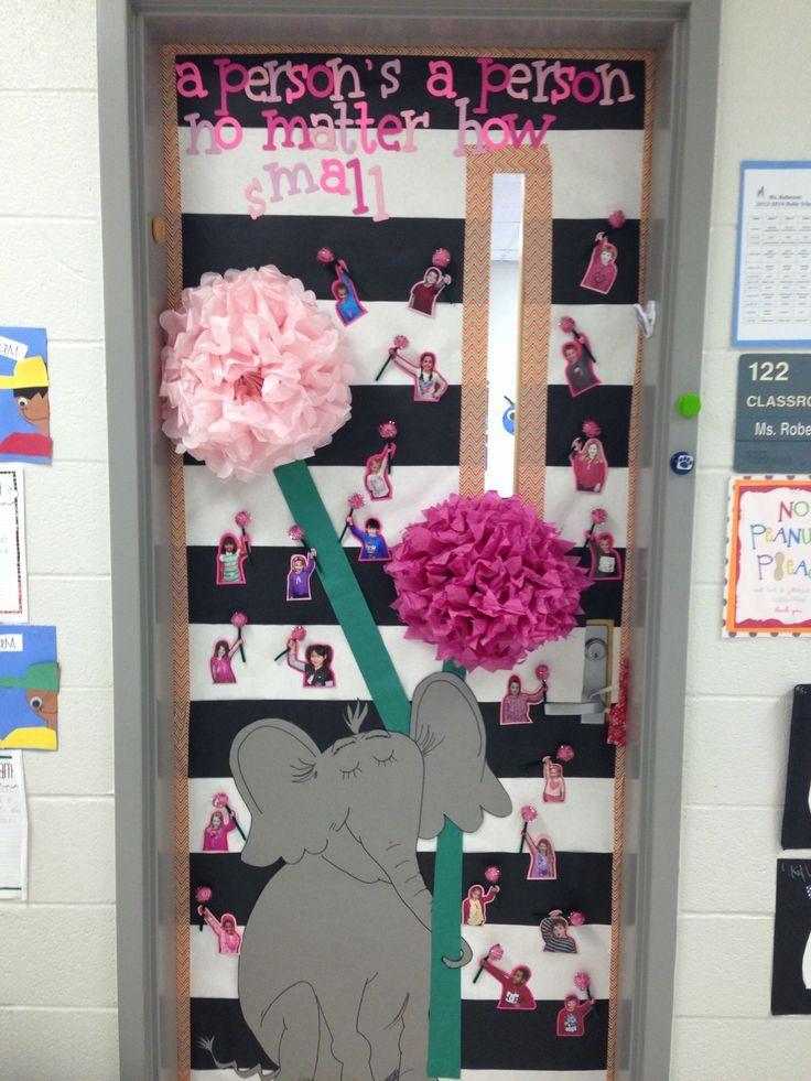 Design Ideas For Classroom ~ Dr seuss door decorating contest