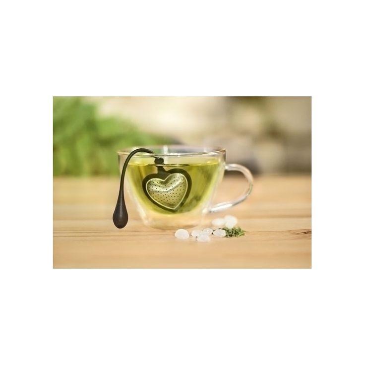 Zaparzacz do herbaty liściastej HEART