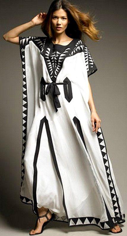 Kaftan maxi dresses