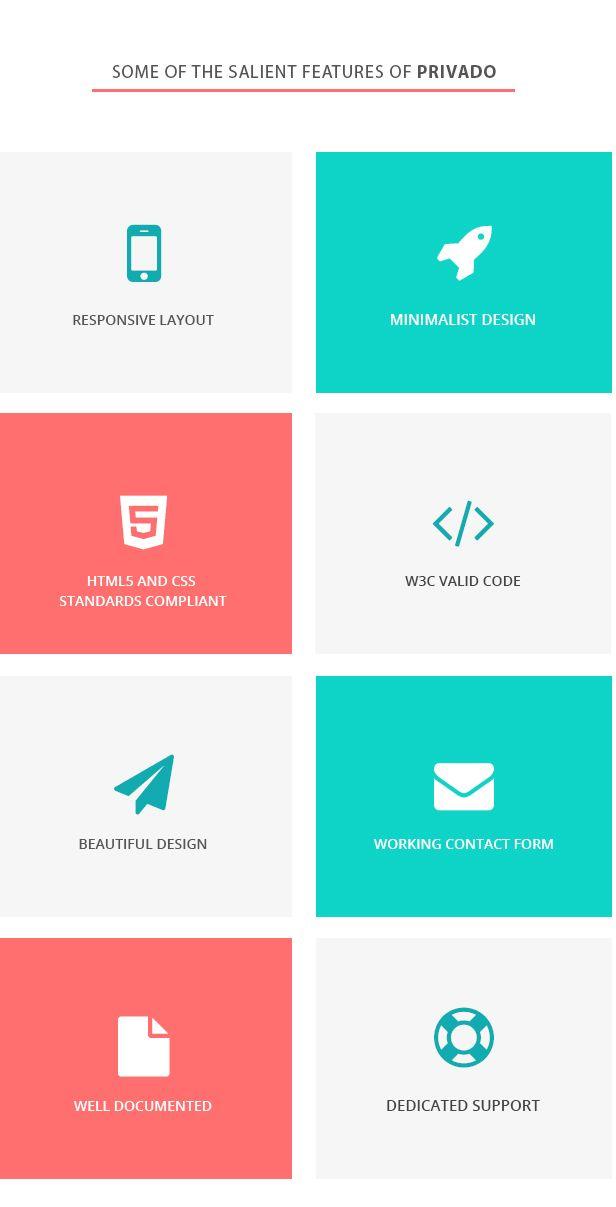 Privado - Interactive Resume  Portfolio Template #Resume