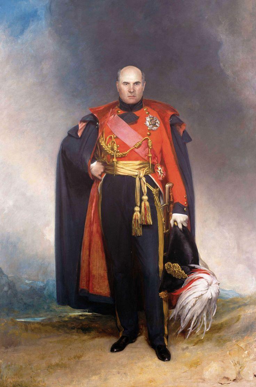 Herrenportrait - Großvater mit ca. 56