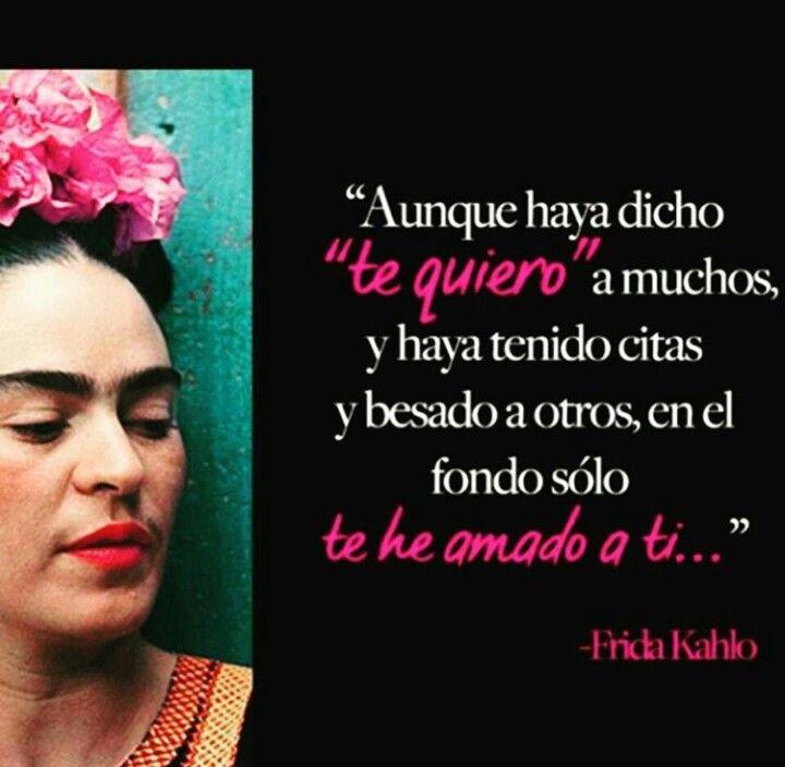Frases de Frida Kahlo.  Frida Kahlo