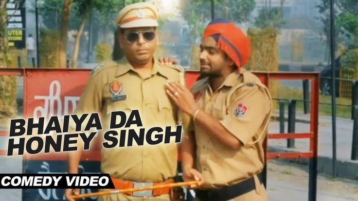 nice Best Punjabi Comedy Video - Bhaiya Da Honey Singh | Kake Shah | Punjabi Movie | Mere Yaar Kaminey