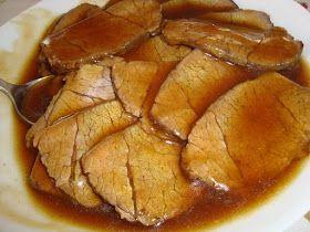 La buona cucina di Katty: Arrosto di manzo - Roast Beef