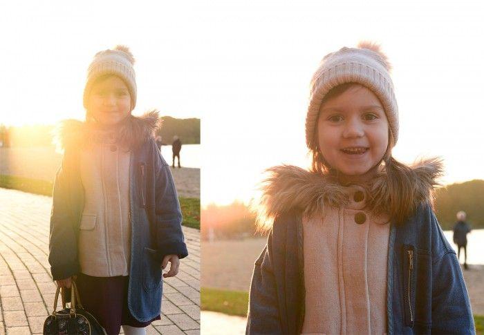 Kosher Kids look | Powdery Pink | Zara Coat | Zara cardigan