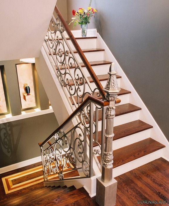 Кованые лестницы — фото