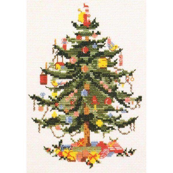 Spode Christmas Tree Holly Counted Cross Stitch Sampler China PDF New Pattern | eBay