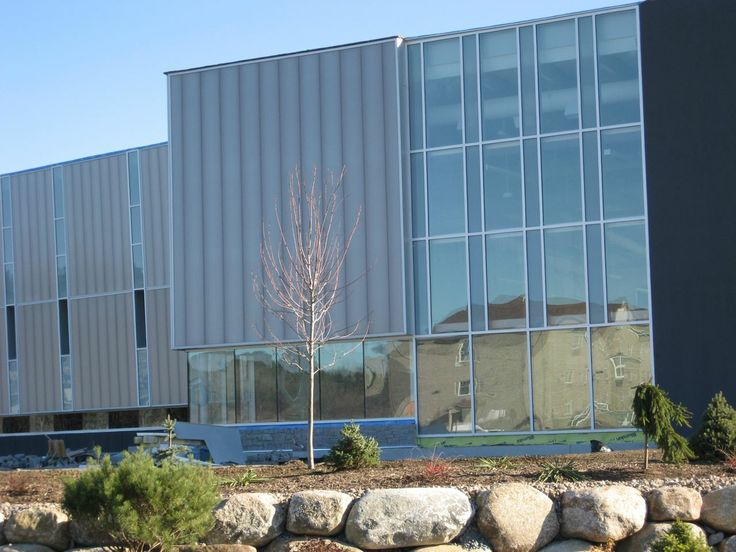 Project: Queens Place Emera Center Location: Liverpool, NS  Product: CPI Daylighting Architect: WHW Architects