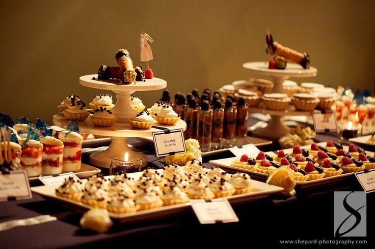 Dessert Bar Ideas Mini Choc Mousse Mini Trifles Mini