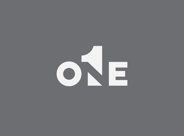Logo // One Design // Gestalt Theory by Maurizio Pagnozzi, via Behance