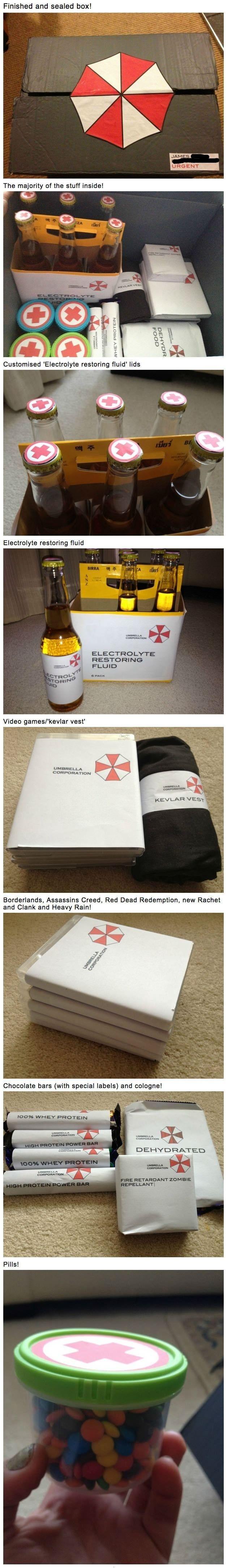 Homemade Zombie Survival Kit