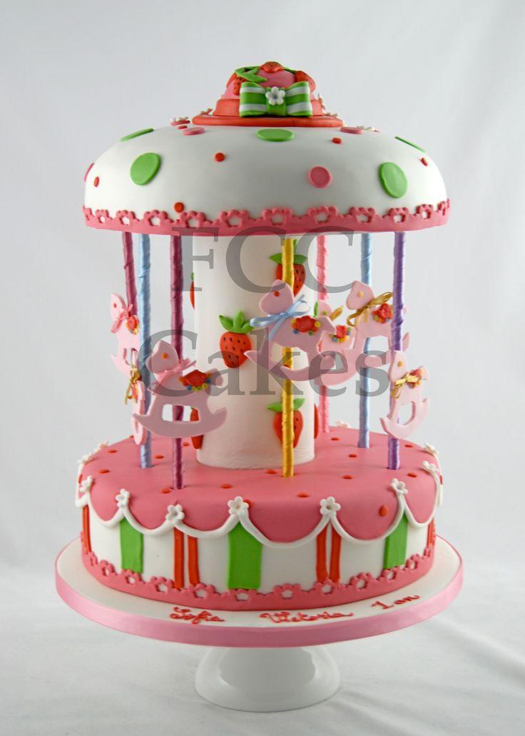 17 meilleures id es propos de g teau de carrousel sur - Gateau anniversaire pour enfant ...