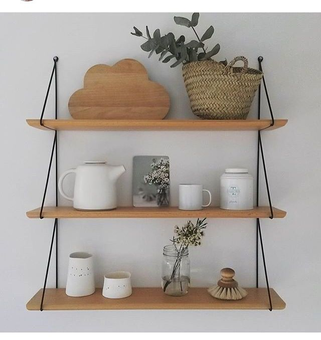19 best je le veux images on pinterest factories 3 4 for Etagere murale bois brut