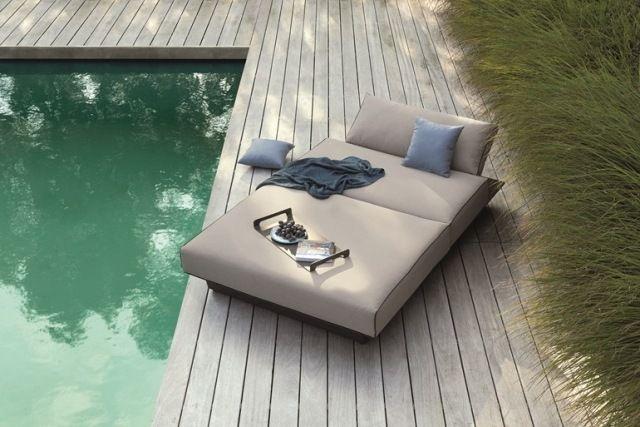 Mobilier Extérieur Design: 60 Chaises Longues Et Lits De Jardin | Daybeds,  Decoration And Patio