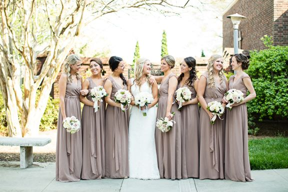 Blush and Grey Wedding at the Brooklyn Arts Center in Wilmington, NC