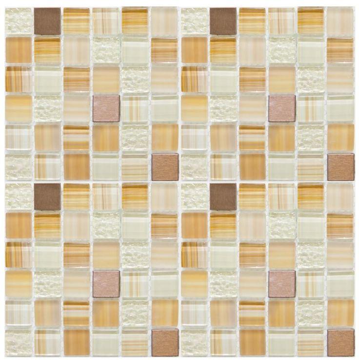 Mineral Tiles - Diy Network Tile Backsplash Kit 15Ft Harvest Blend, $179.00  (http: