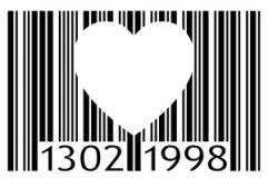 Code à Barres Coeur Tattoo