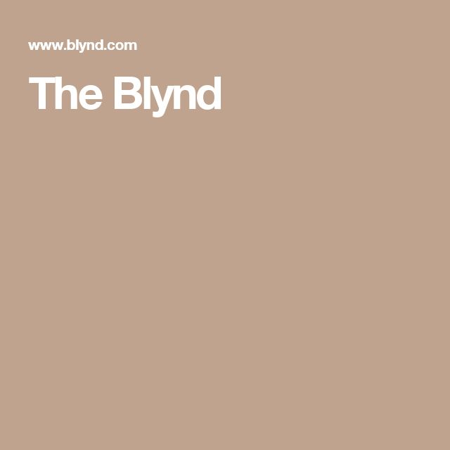 The Blynd