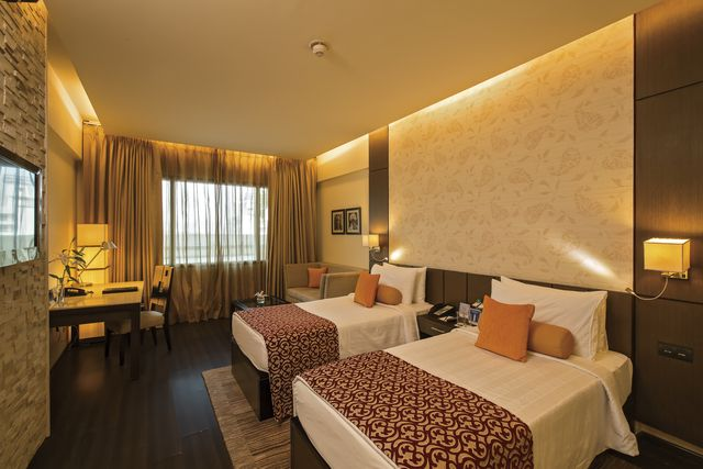 Fortune Hotel Jaipur, know for its best in class #services, is one of the best 4 star #luxurious property in #Jaipur. It is a perfect amalgamation of classic interiors and modern amenities. Banquet halls, conference halls, well decorated fully furnished #hotelrooms, rooftop swimming pool and a spa are some of the key features of this #hotel. #accommodation #jaipurdiaries #pinkcity