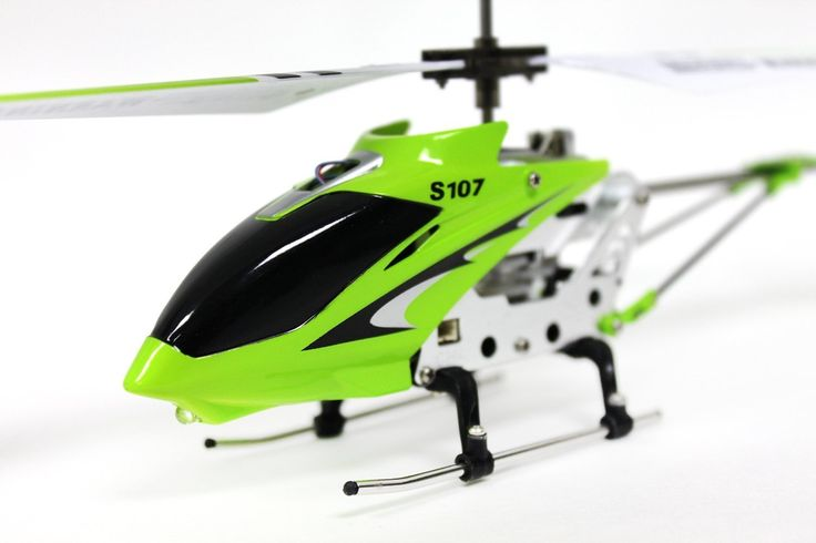 Amazon.com: Syma S107G 3 Channel RC Radio Remote Control Helicopter with Gyro - Green: http://amzn.to/2uM6UjG