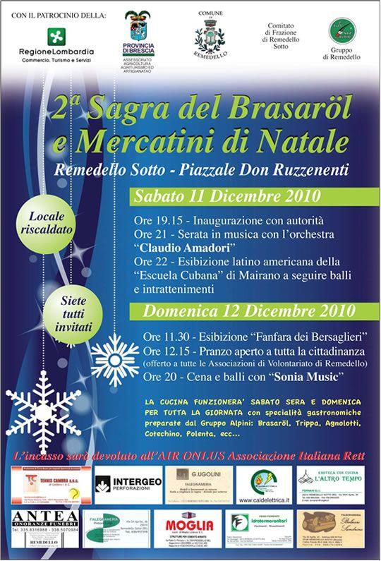Sagra del Brasarol e mercatini di Natale a Remedello  http://www.panesalamina.com/2010/291-sagra-del-brasarol-e-mercatini-di-natale-a-remedello.html