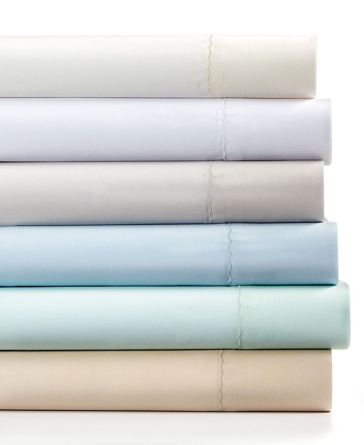 Martha Stewart Collection 360 Thread Count Cotton Percale California King Sheet Set