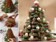 3D Christmas Tree Cookies