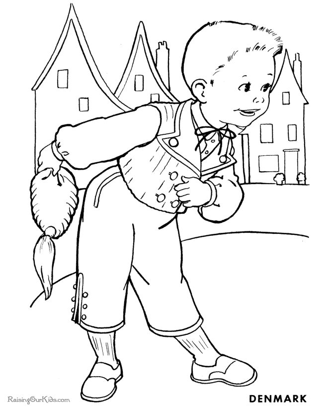 Coloring sheet for kids