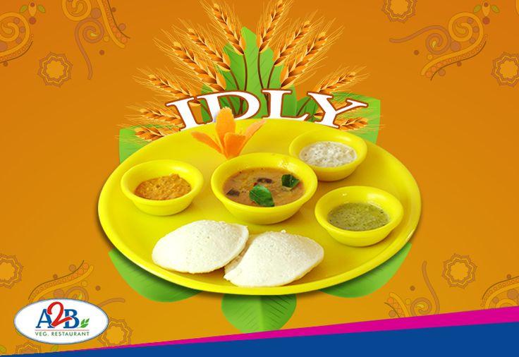 Soft and fluffy, enjoy the tempting idly at Adyar Ananda Bhavan.   www.aabsweets.in | admin@aabsweets.com +91- 44 - 23453050, 24469977, 24462324  #AdyarAnandaBhavan #Food #Foodie #Happiness #Restaurant #A2B #Idli #Idly #Idlysambar