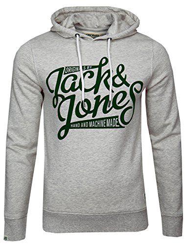 JACK & JONES Herren Slim Fit Kapuzenpullover Jjorclassic Sweat Hood | Sweatshirt Laden