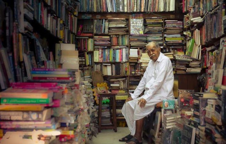 βιβλιοπωλεία Βιβλιοπώλης στην Ινδία