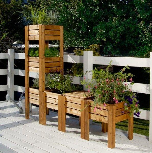 25 best ideas about giardino sul balcone su pinterest - Giardino in balcone ...
