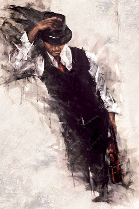 i like the impressionism look to this! but it looks almost like it could have been done with watercolor!!! :D <3
