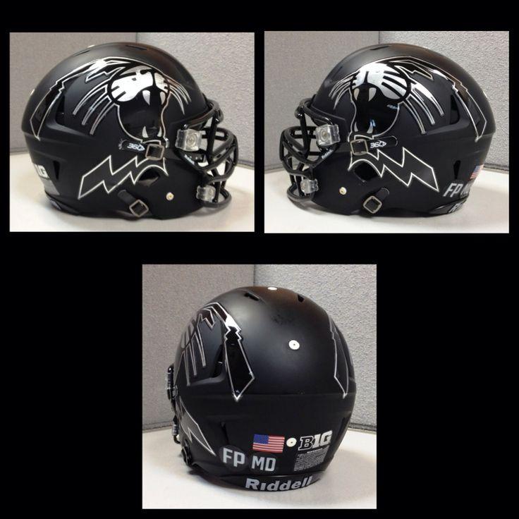 Best Football Helmets Images On Pinterest Football Helmets - Motorcycle half helmet decals