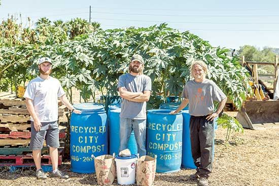 A young Phoenix company has hit paydirt by recycling and reusing food waste to benefit consumers, businesses, the land — and the landfill.