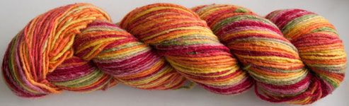 Great new self-striping yarn from Cascade Yarns!