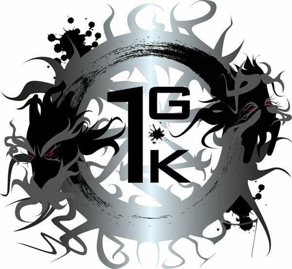 1.G.K Logo by Andy Heather, via Behance