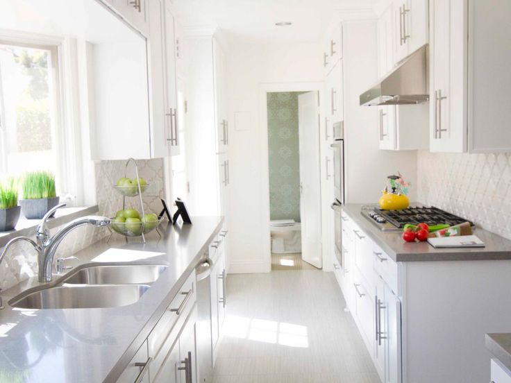 Grey And White Galley Kitchen 193 best kitchen remodel ideas images on pinterest | dream