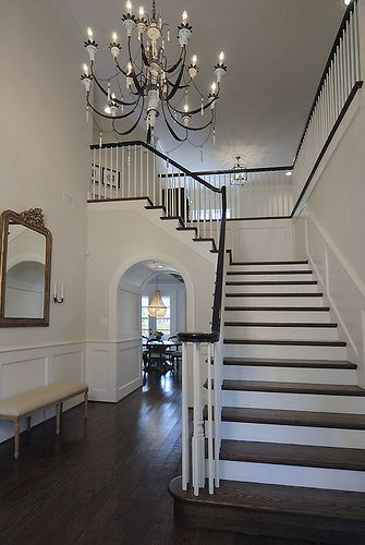 Best 25+ Foyer staircase ideas on Pinterest | Curved ...