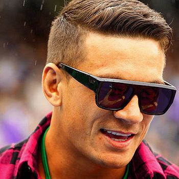 Colt's would be faded up more but I still like this length.  His hair isn't as thick as this dudes though.