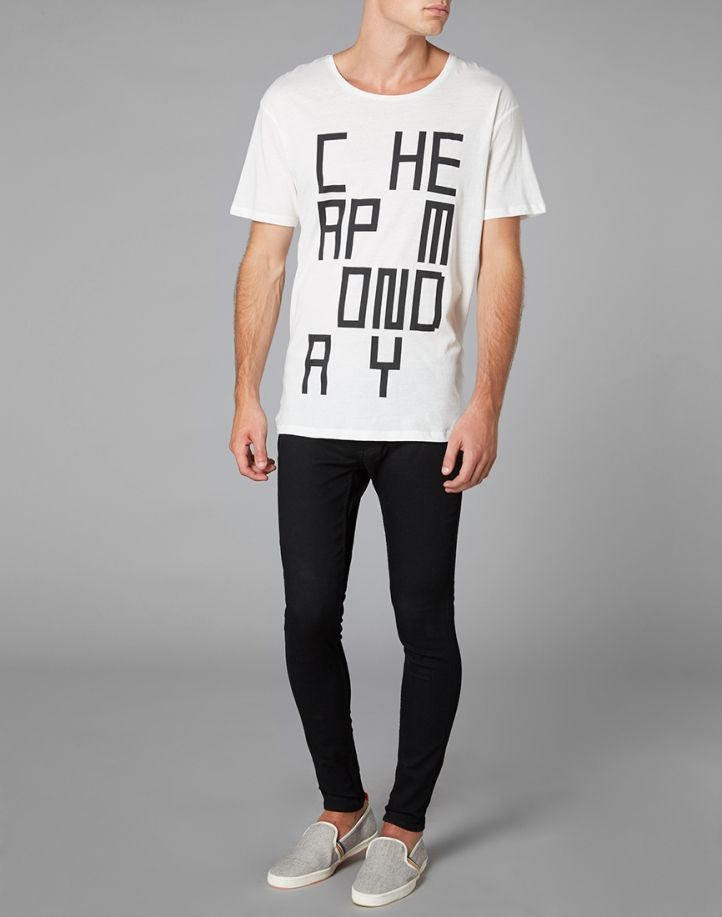 Cheap Monday Low Spray Jeans in Super-Skinny Fit | L o o k