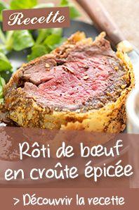 Rôti de bœuf en croûte épicée