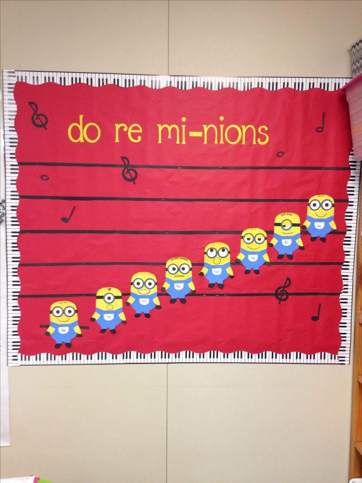 Music room bulletin board
