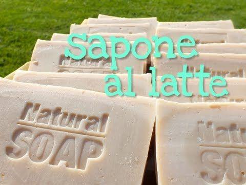 """SAPONE AL LATTE FATTO IN CASA METODO """"TUTTO A FREDDO"""" - soap for dummies - - YouTube"""