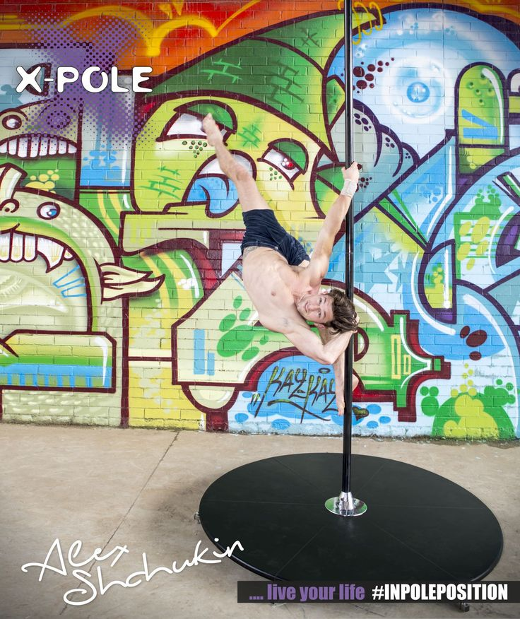 Alex Shchukin for #XPoleSA at Summer Pole Camp 2014 #inpoleposition