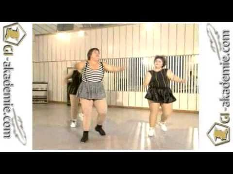 Гимнастика для полных женщин, 3 видео