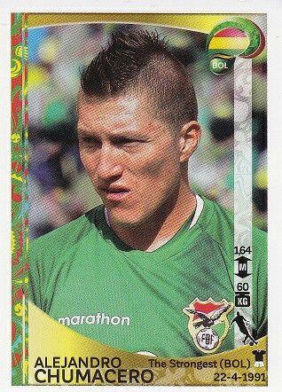 Alejandro Chumacero of Bolivia. Copa America 2016 card.