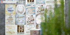 American Vintage är en kakel serie framtagen han eller henne som verkligen gillar den amerikanska vintage stilen och då med fokus på framförallt femtiotalet. Gillar du amerikanska bilar från 50-talet, American Apple Pie, Lounges, Ranche houses, cup cakes och en stor kopp Amerikanskt kaffe då är denna serien för dig.  Det finns både romantiska och chubby chick stilar i denna fantastiska kakel serie. Klicka dig runt och få ditt eget halleluja moment!