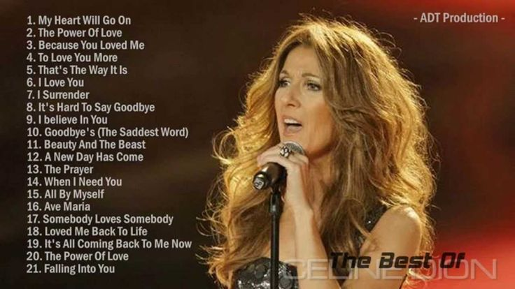 The Best Of Celine Dion | Celine Dion's Greatest Hits