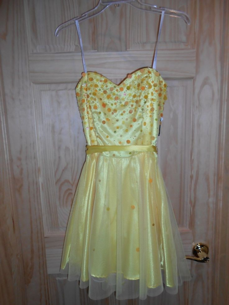 Awesome Awesome NEW Masquerade Bright Yellow Short Corset Dress 7/8 or 9/10 Strapless sequins! 2017 2018 Check more at http://24myshop.ga/fashion/awesome-new-masquerade-bright-yellow-short-corset-dress-78-or-910-strapless-sequins-2017-2018-2/